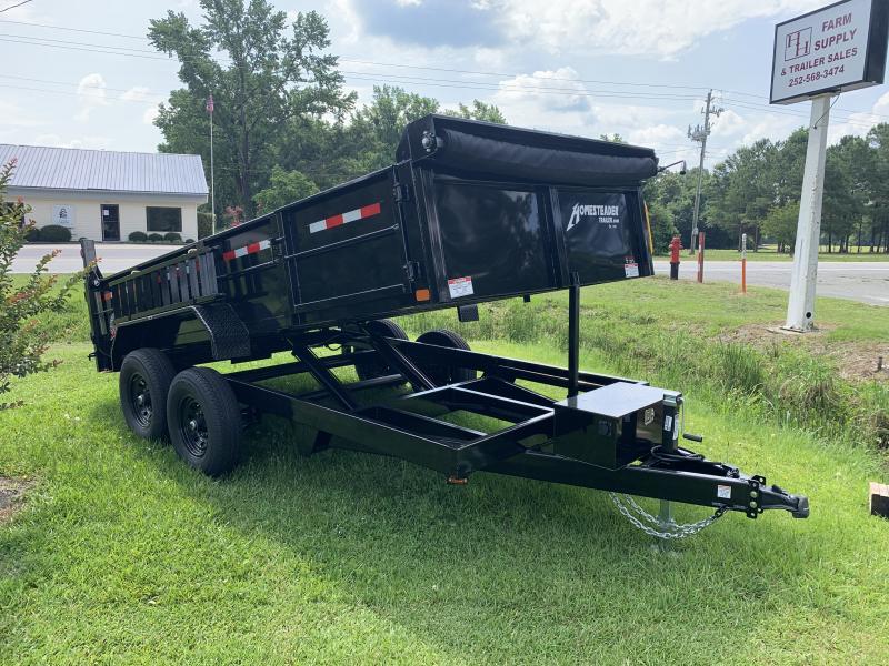 2021 Homesteader 7'x14' 14k Dump Trailer
