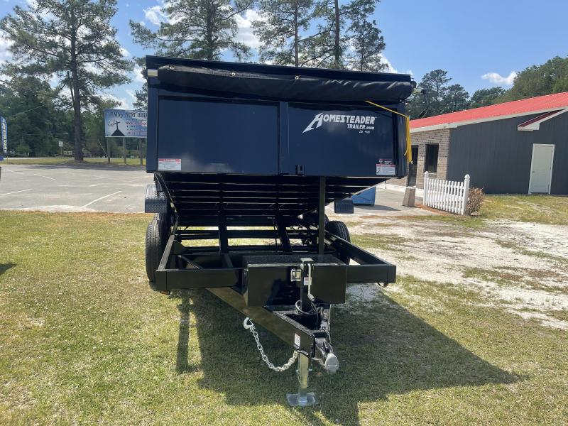 2021 Homesteader 7'x14' 14k Dump Trailer W/Tarp