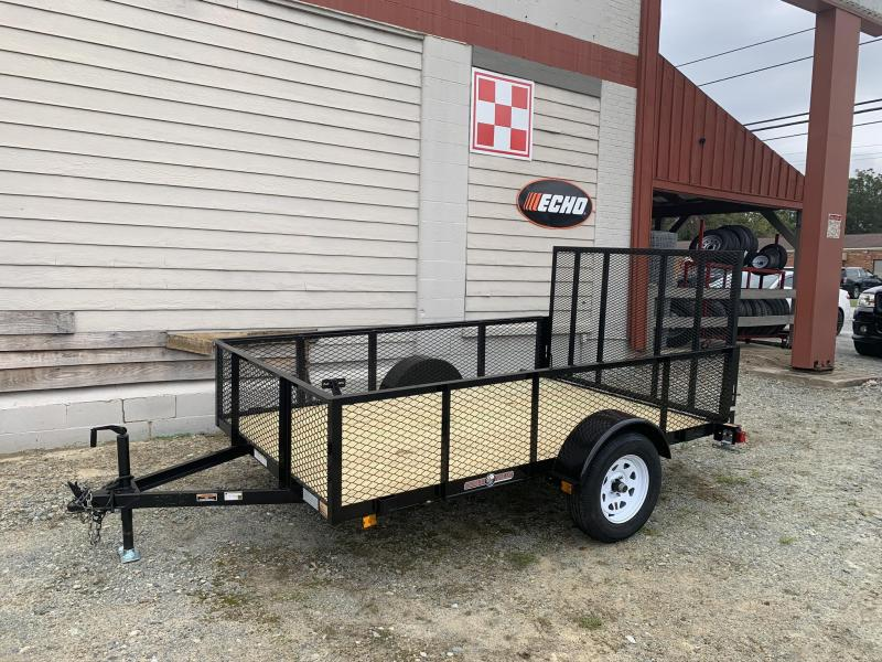 2021 Currahee 6x10 2ft Mesh Sides Utility Trailer