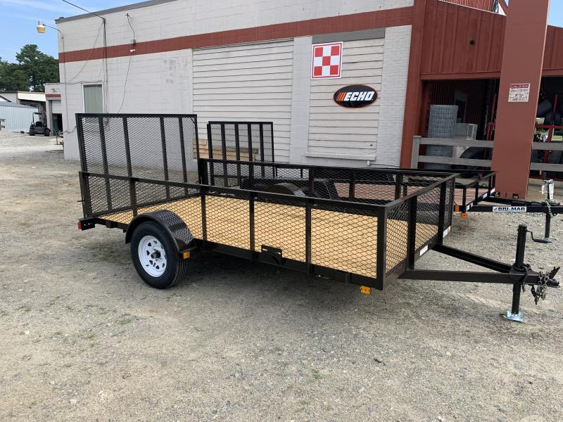 2021 Currahee 6x12 2ft Mesh Utility Trailer