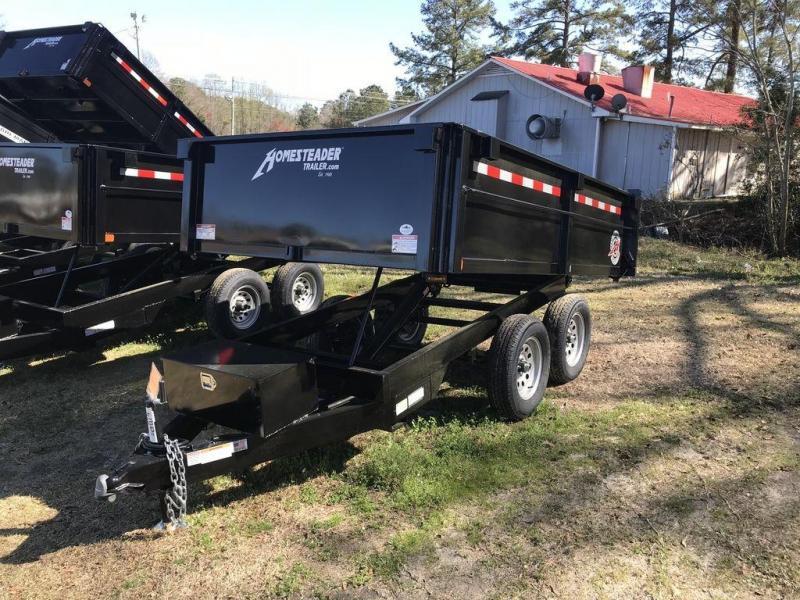 2021 Homesteader 610LB Over The Wheel Dump Trailer
