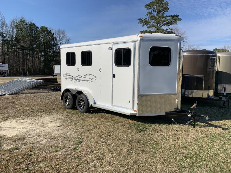 2020 Homesteader Stallion 2H BP Horse Trailer