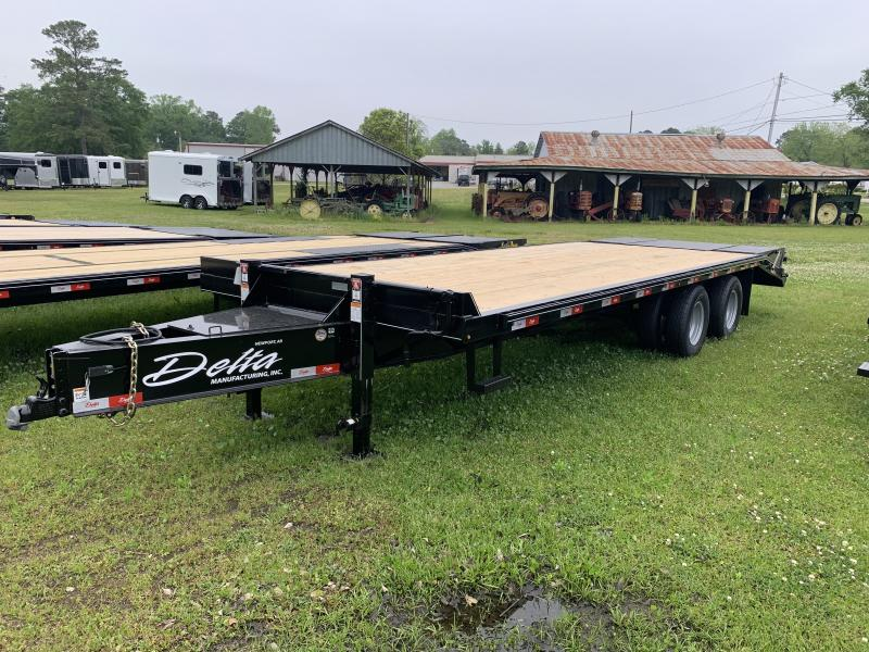 2021 Delta Dual-Wheel Flatbed 25ft
