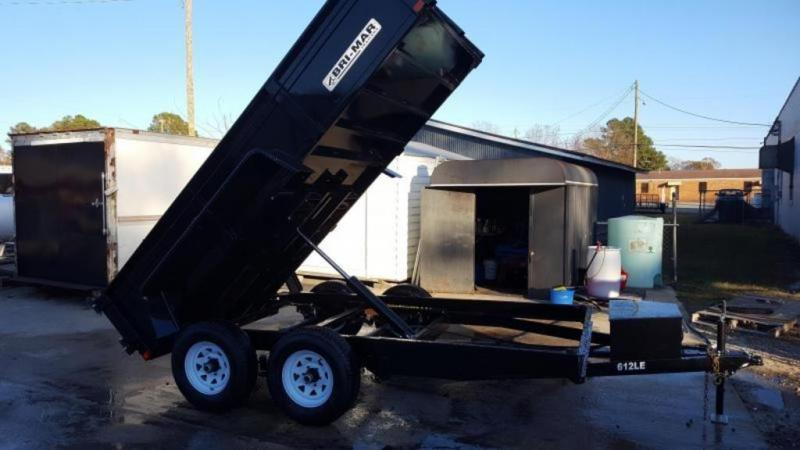 2021 Bri-Mar DT612-10 Dump Trailer
