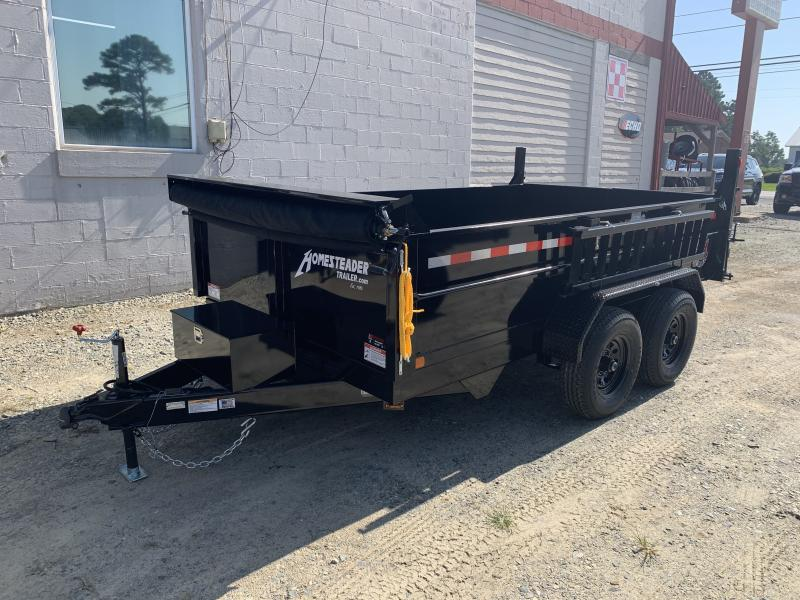 2021 Homesteader 7x12 MX Dump Trailer W/Tarp