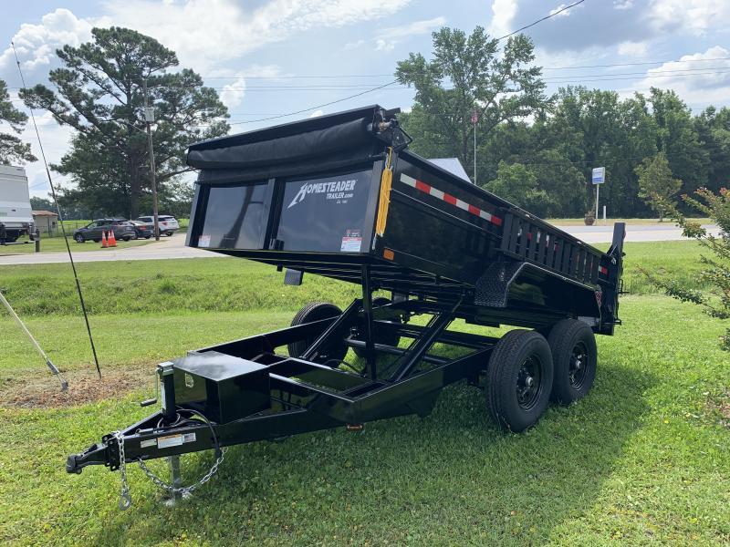 2020 Homesteader 7X12 12K Dump Trailer