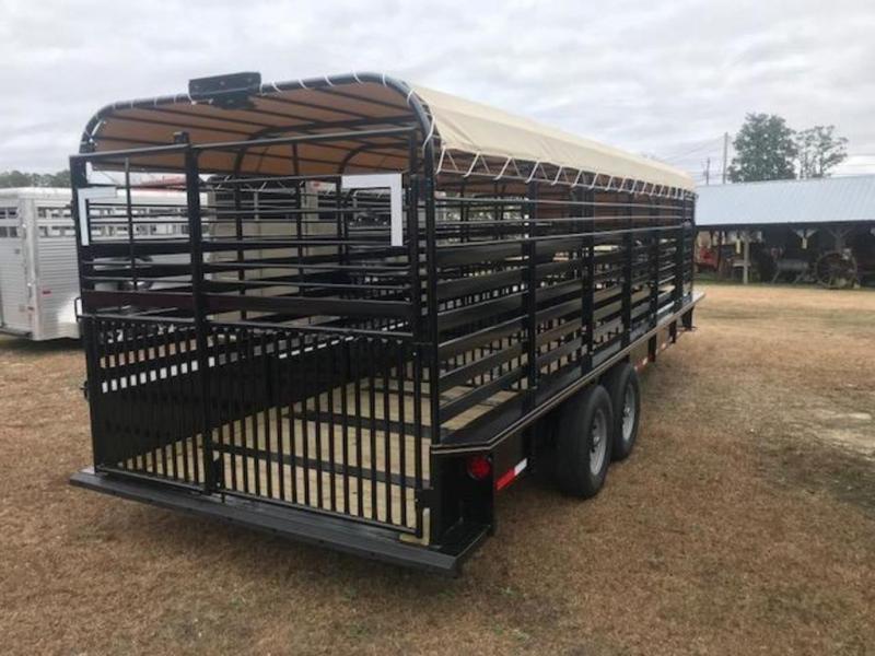 2020 Stoll 24X7 Livestock Trailer