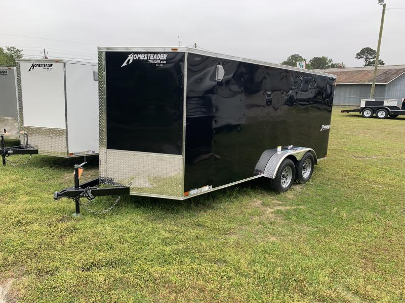 2020 Homesteader 7'x16' Intrepid Cargo Trailer