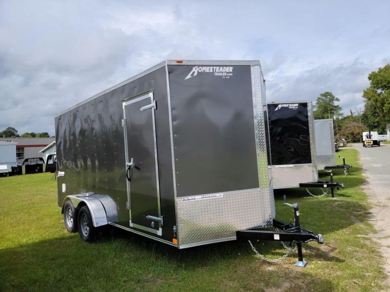 2022 Homesteader 7'x16' Intrepid Cargo Trailer 7' Tall