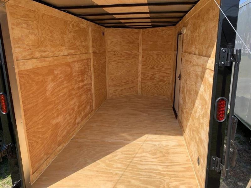 2021 Diamond Cargo 6X12 Black Out Package W/Brakes