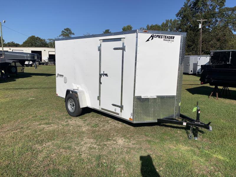 2021 Homesteader 6x12 Intrepid Enclosed Cargo Trailer
