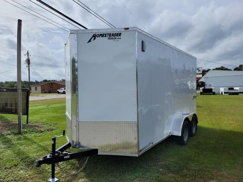 2022 Homesteader 7'x14' Intrepid Cargo Trailer 7' Tall