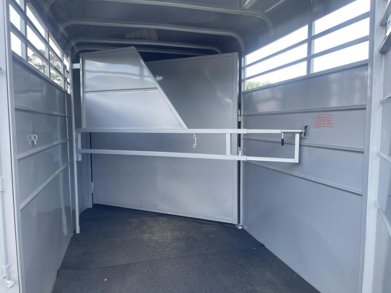 2021 Calico Trailers 2H Stock BP Horse Trailer W/Mats