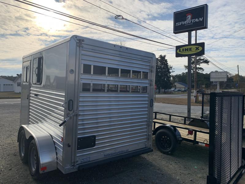 2020 Frontier Colt 2h Slant Horse Trailer