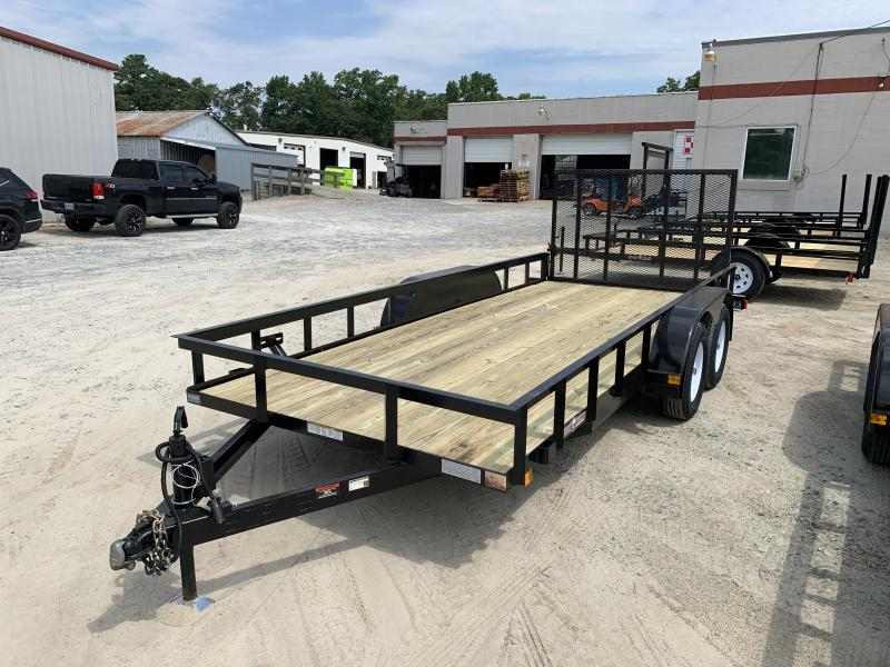 2021 Currahee 6x16 Utility Trailer