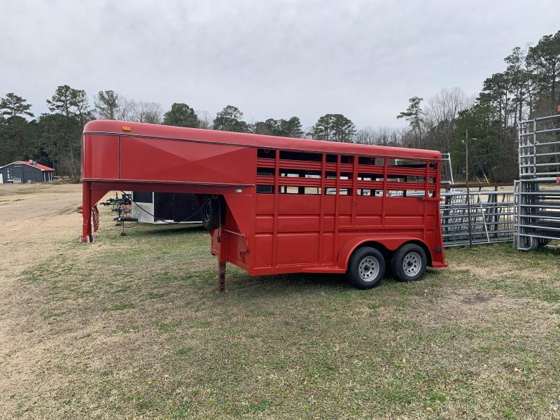 1997 Adam ADAMGN12STOCK Livestock Trailer