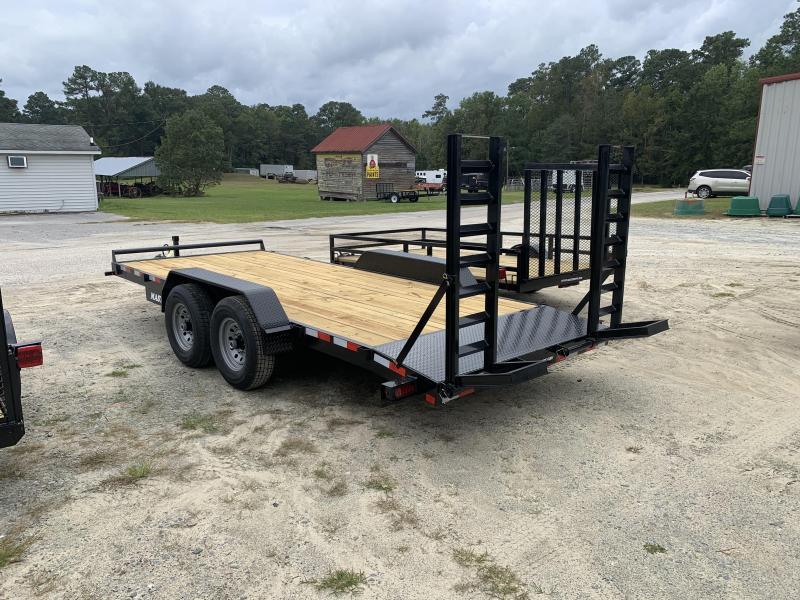 2021 Master Tow 18' Equipment Trailer 14k