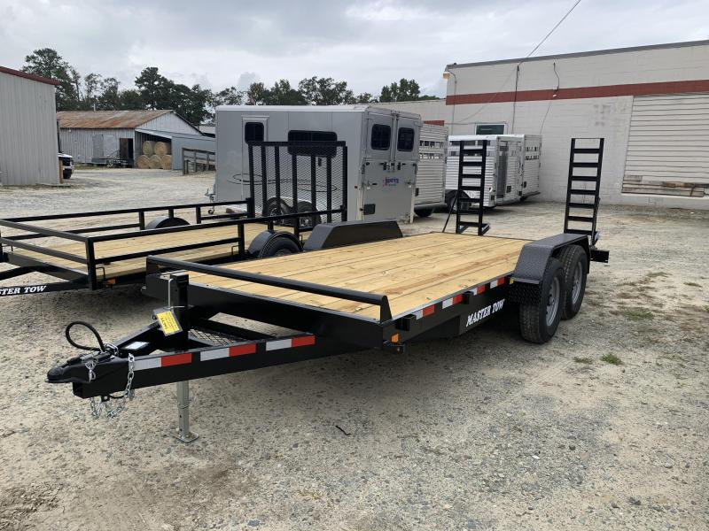 2021 Master Tow 18' Equipment Trailer 14k