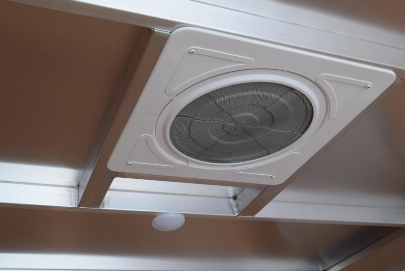 ATC 6x12 RAVEN ALUMINUM CARGO TRAILER w/ REAR DOUBLE DOORS