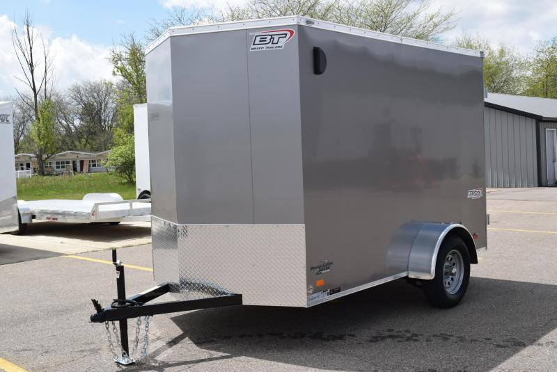 BRAVO 6x10 SCOUT ENCLOSED CARGO TRAILER w/ DOUBLE DOORS
