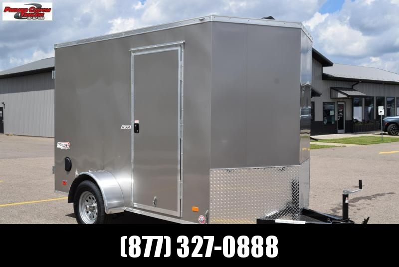 BRAVO 6x10 SCOUT ENCLOSED CARGO TRAILER w/ DOUBLE DOORS