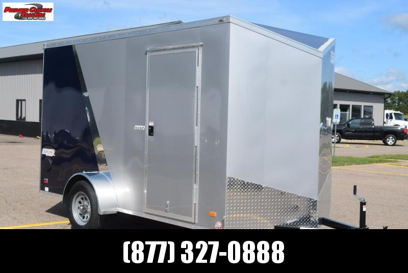 2021 BRAVO 6x12 SCOUT ENCLOSED CARGO TRAILER