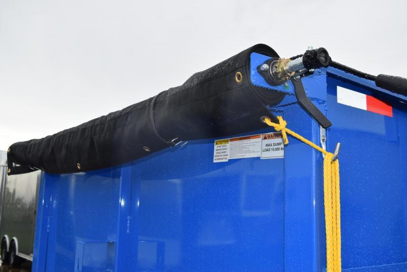 GRIFFIN 83 X 16 14K HIGH SIDE DUMP TRAILER