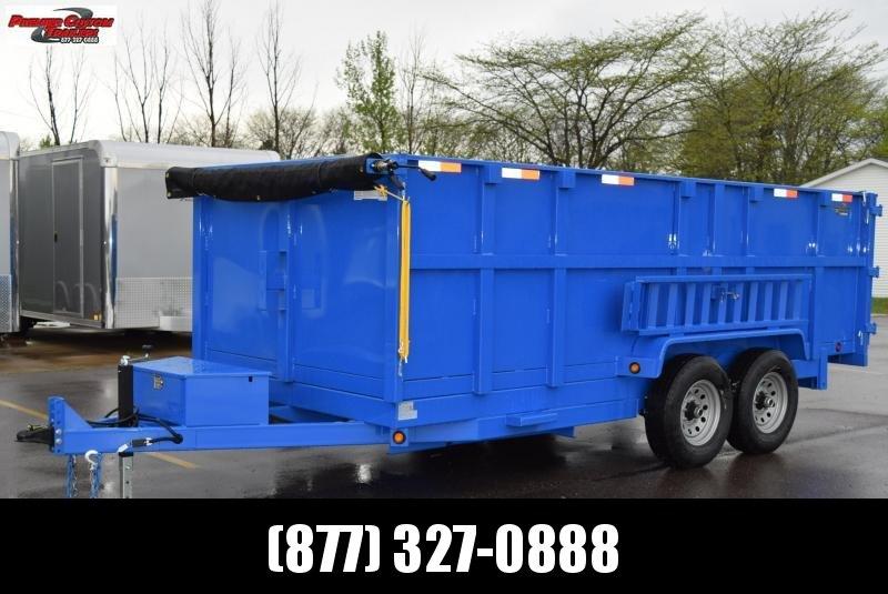 2020 GRIFFIN 83 X 14 14K Low Pro Dump Trailer