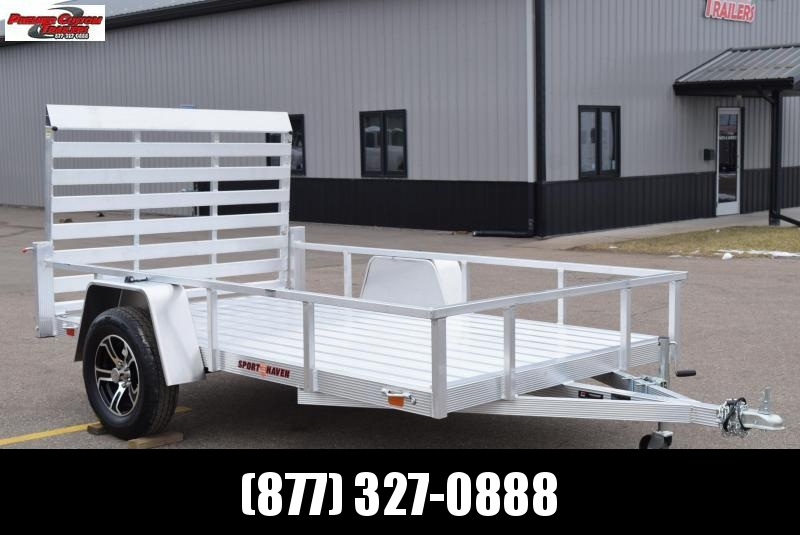 SPORT HAVEN 6x10 DELUXE SERIES UTILITY TRAILER