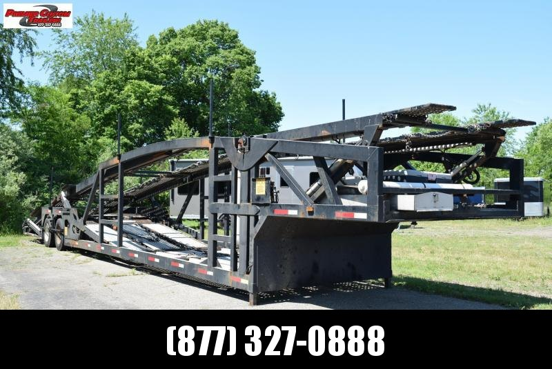 USED 2008 COTTRELL 7 CAR AUTO TRANSPORT TRAILER