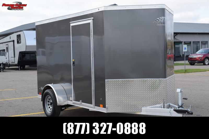 2021 ATC 6x10 RAVEN ALUMINUM ENCLOSED CARGO TRAILER