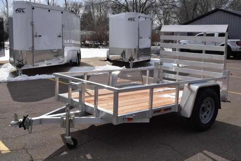 2020 SPORT HAVEN 5x8 OPEN UTILITY TRAILER