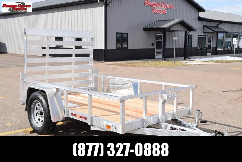 2021 SPORT HAVEN 5x8 OPEN UTILITY TRAILER