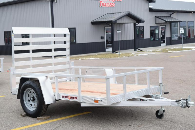 SPORT HAVEN 5x8 OPEN UTILITY TRAILER