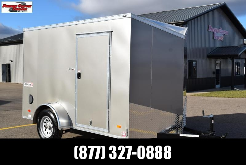 BRAVO 6x10 SCOUT ENCLOSED CARGO TRAILER