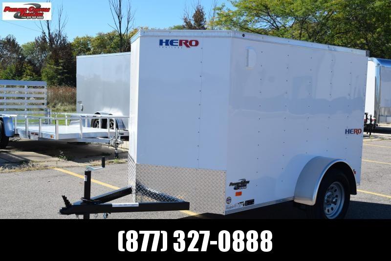 BRAVO HERO 5x8 ENCLOSED CARGO TRAILER
