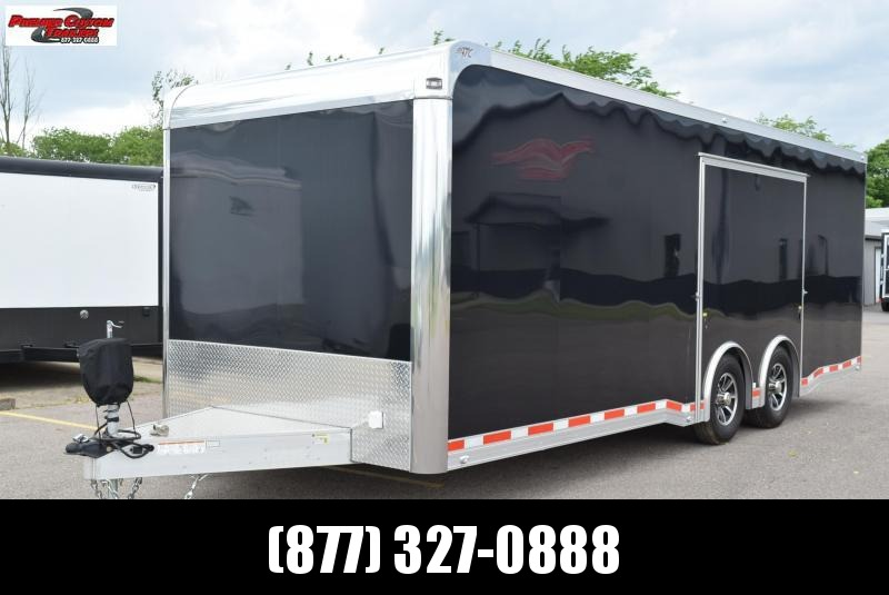 USED 2018 ATC 8.5x24 QUEST 305 RACE HAULER w/ 6K AXLES