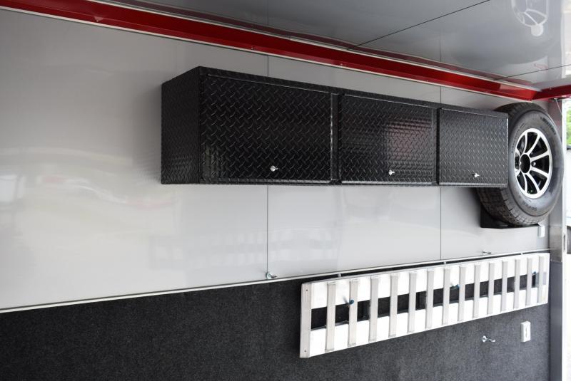 USED 2018 ATC 8.5x24 QUEST 305 RACE HAULER w/ 6K AXLES