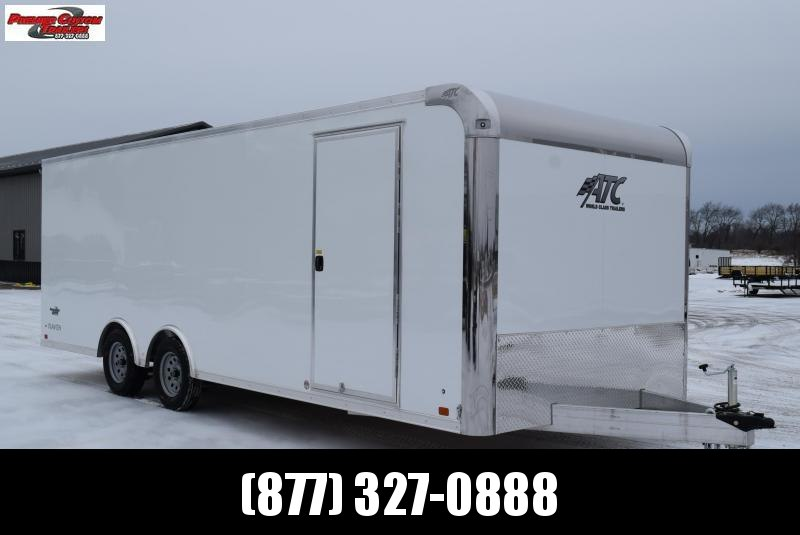 2020 ATC ALL ALUMINUM 8.5x22 RAVEN CAR HAULER