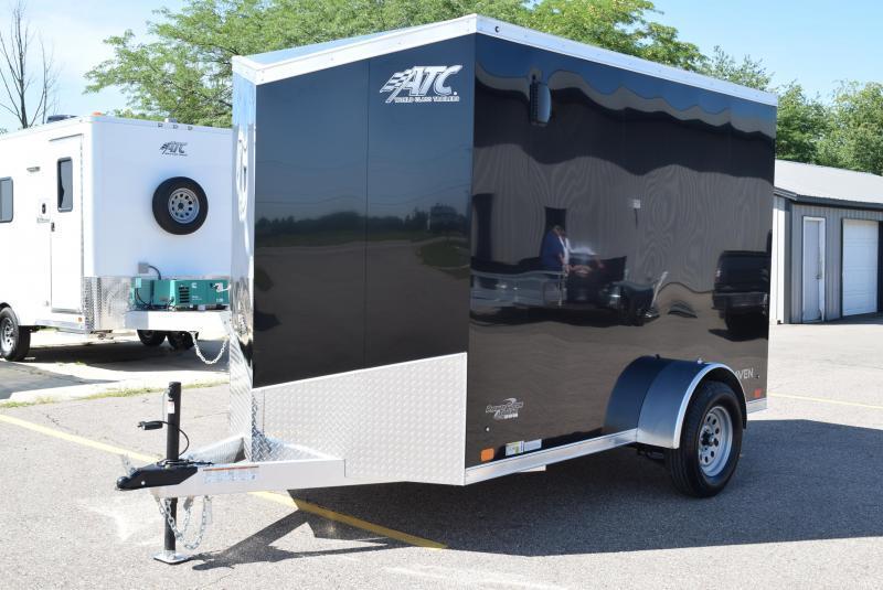 ATC 6x10 RAVEN LIMITED ALUMINUM CARGO TRAILER