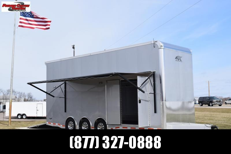 ATC QUEST 26' STACKER ALL ALUMINUM RACE HAULER