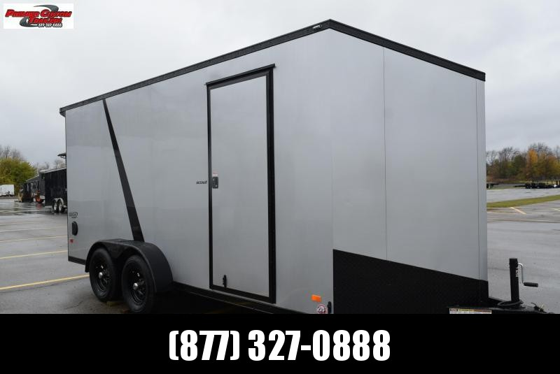 BRAVO 7x16 SCOUT *MIDNIGHT EDITION* ENCLOSED CARGO TRAILER