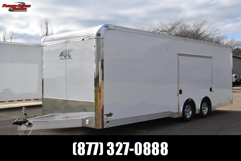 ATC 24' QUEST ALL ALUMINUM RACE HAULER w/CH305 PACKAGE & PREMIUM ESCAPE DOOR