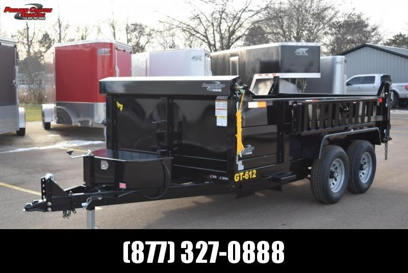 2020 GRIFFIN 72 X 12 10K Low Pro Dump Trailer