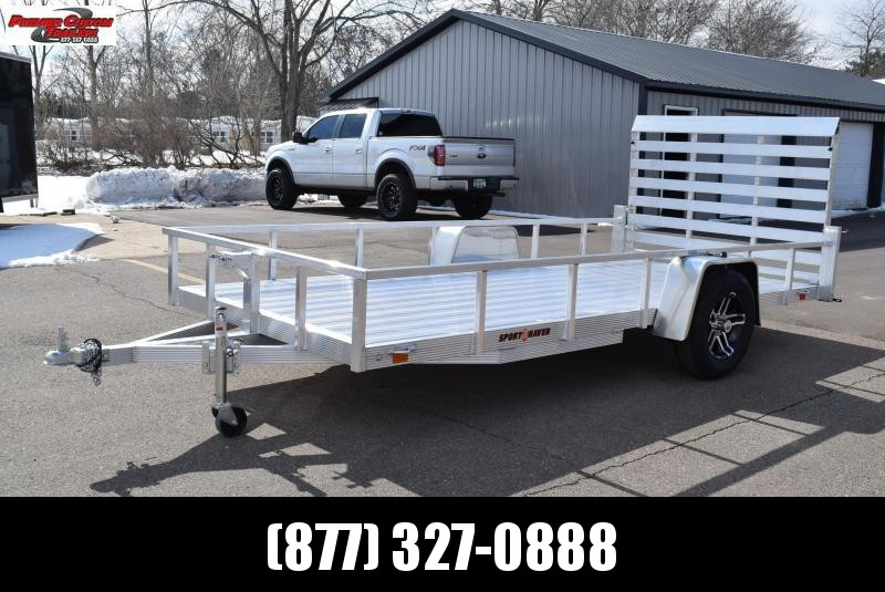2021 SPORT HAVEN 6x14 DELUXE SERIES UTILITY TRAILER