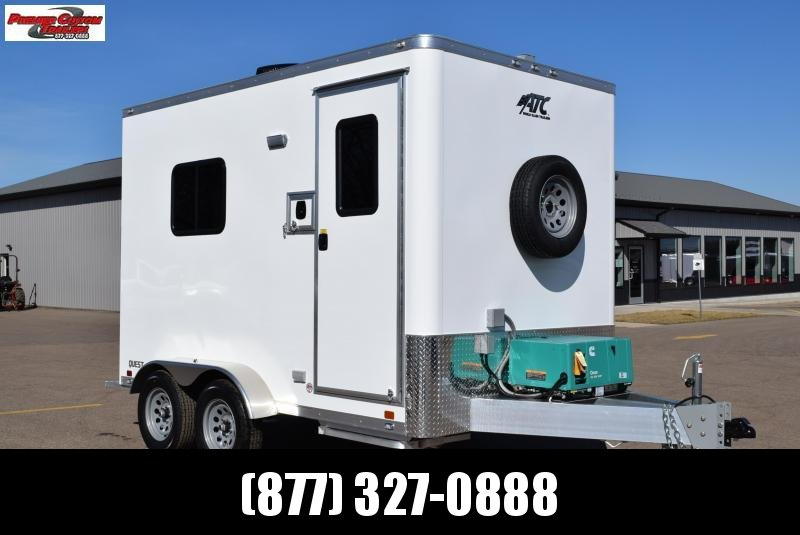 7x12 ATC FIBER OPTIC SPLICING TRAILER w/4.0k GENERATOR