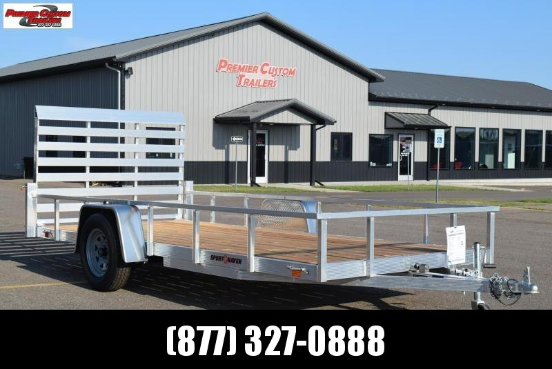 2021 SPORT HAVEN 6x14 OPEN UTILITY TRAILER