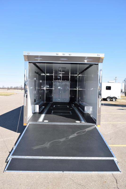 ATC 24' QUEST ALL ALUMINUM RACE HAULER w/CH305 PACKAGE