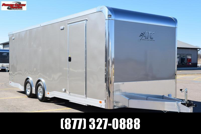 2020 ATC 24' QUEST ALL ALUMINUM RACE HAULER w/CH305 PACKAGE