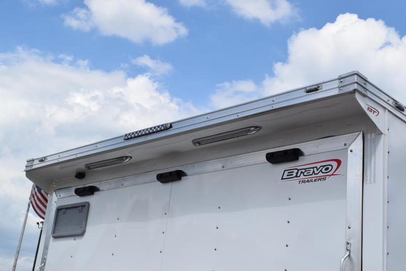 BRAVO 8.5x18 BRUTE HEAVY DUTY CARGO TRAILER W/ SKID STEER PACKAGE